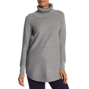 CYRUS Ribbed Cowl Neck Sweater